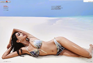 Sarah Jane Dias Exposing Her   in Thong for GQ India July 2014