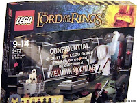 Lego the Lord of the Rings Box mines of moria, fellowship of the ring, drużyna pierścienia