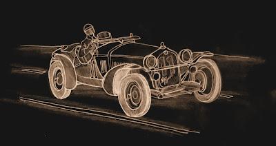 Alfa Romeo 8C - 1933.