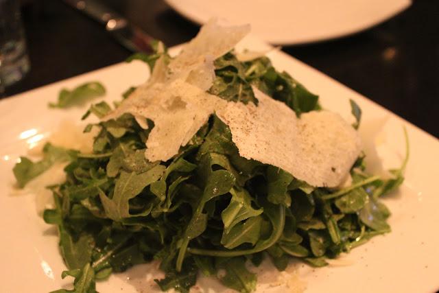 Rucola salad at Nebo, Boston, Mass.