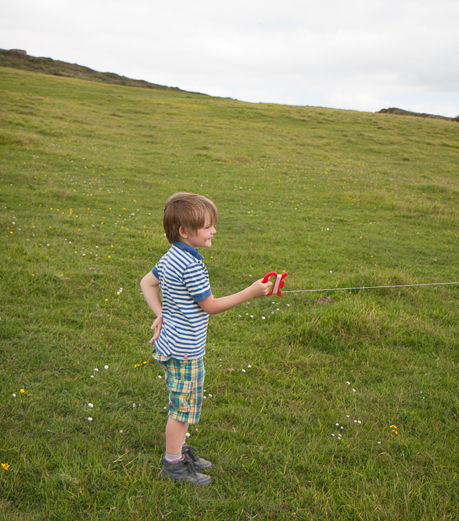 Kite flying near Burton Bradstock Beach