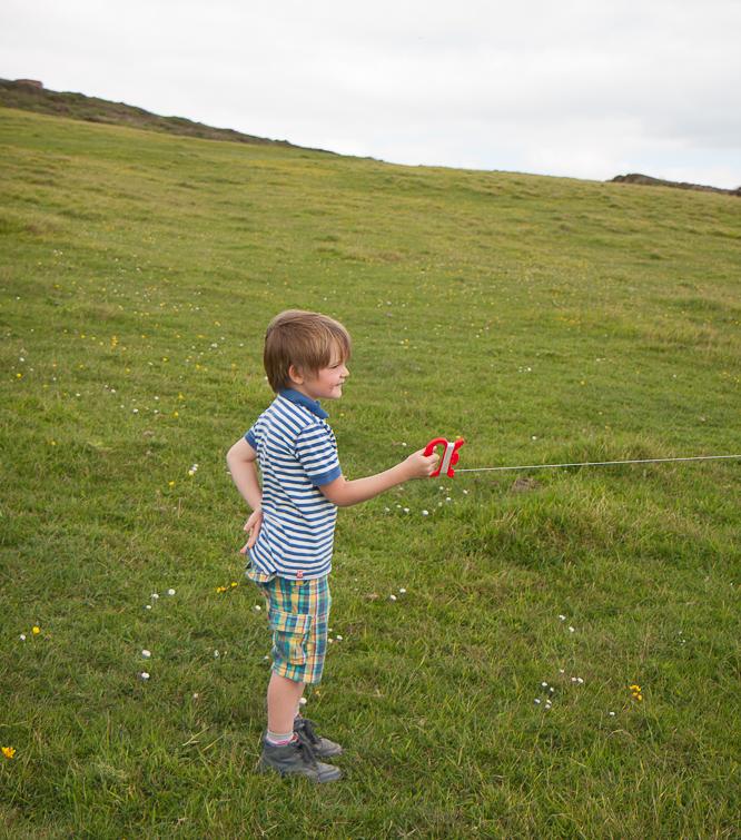 Kite flying near Burton Bradstock Beach