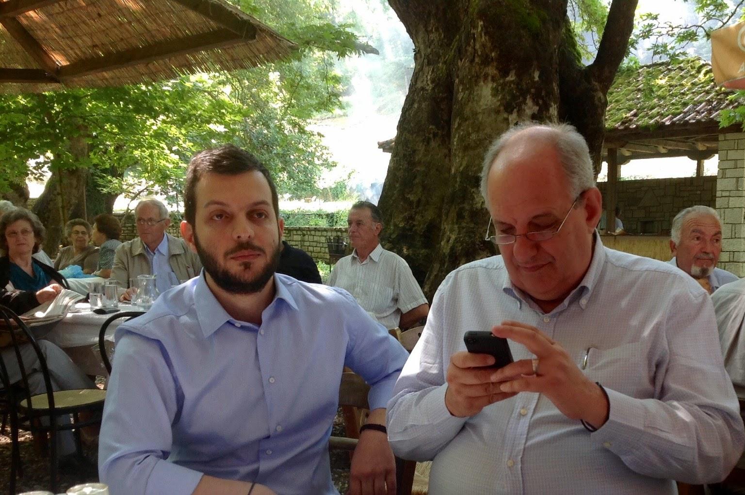 Πανευρυτανικό Αντάμωμα στο Κεφαλόβρυσο με τον Υφυπουργό Εξωτερικών  κο Τέρενς Κουίκ