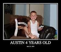 Austin Four Years Old