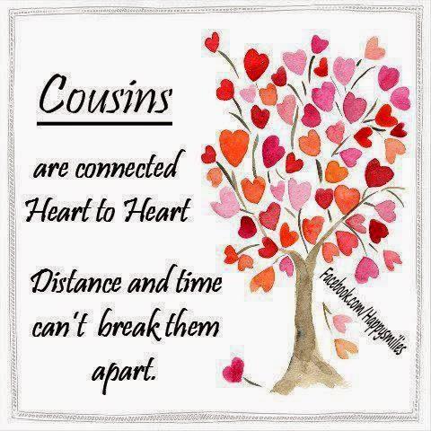Cousins   Love Quote