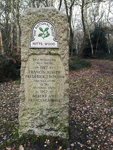 Edlmann memorial, Petts Wood.  November 2015