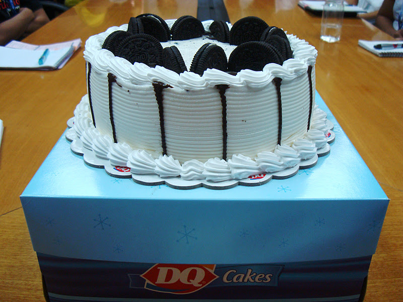 Dairy Queen Cake For My Birthday