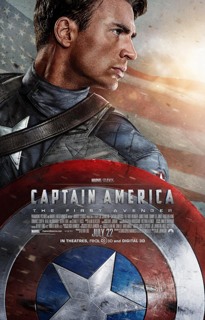 Captain America, no doubt! Chris Evans comic-book classic ...