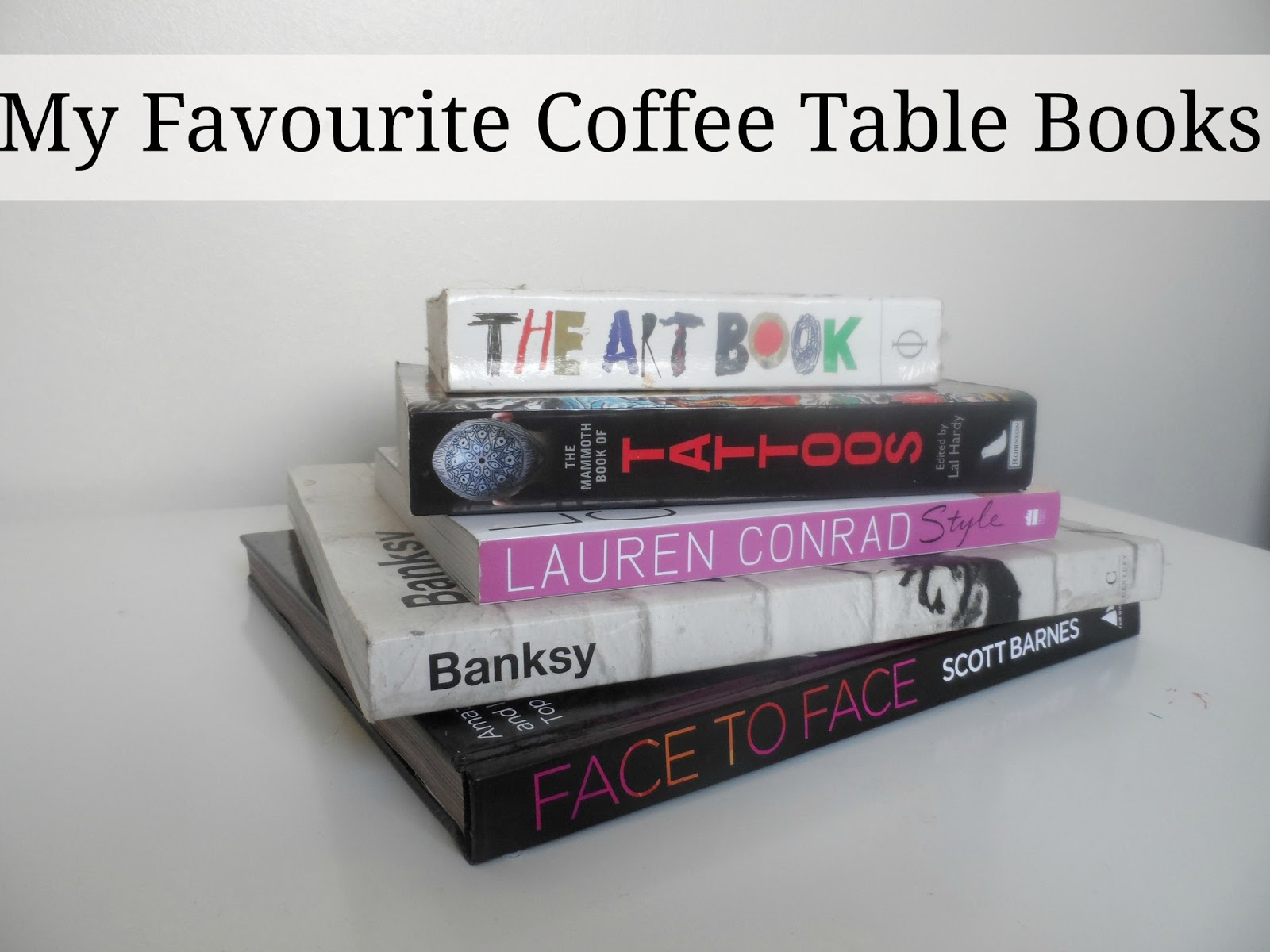 Beauty Fashion And Lifestyle Blog My Favourite Coffee Table Books