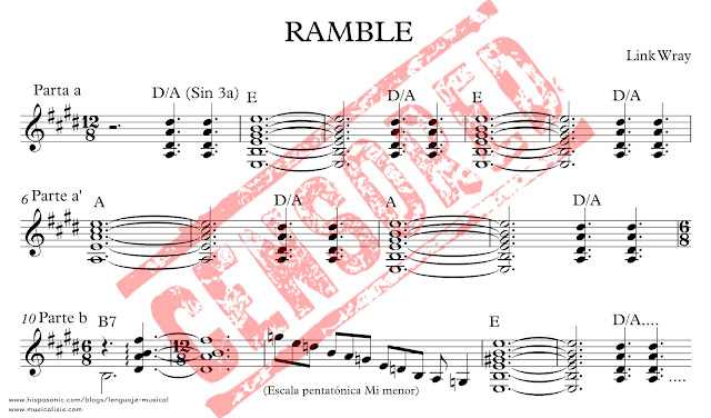 Partitura de Ramble