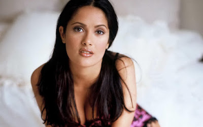 Hollywood Actress Salma Hayek Sexy Wallpaper