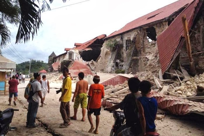 BOHOL EARTHQUAKE 3