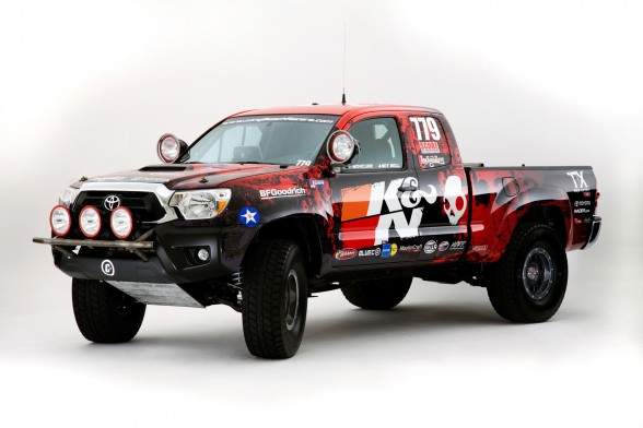 Inspired By The Upcoming Limited Edition 2012 TRD Tacoma TRD Baja TX Series  Come Next Year, The Long Beach Racers Tacoma Will Compete In The 2011  Tecate ...