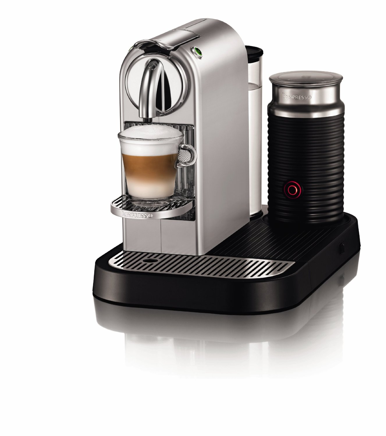 coffee machine that makes lattes