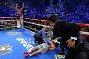 Marquez KO'd Pacquiao. Finally, Juan Manuel Marquez defeated Manny Pacquiao .