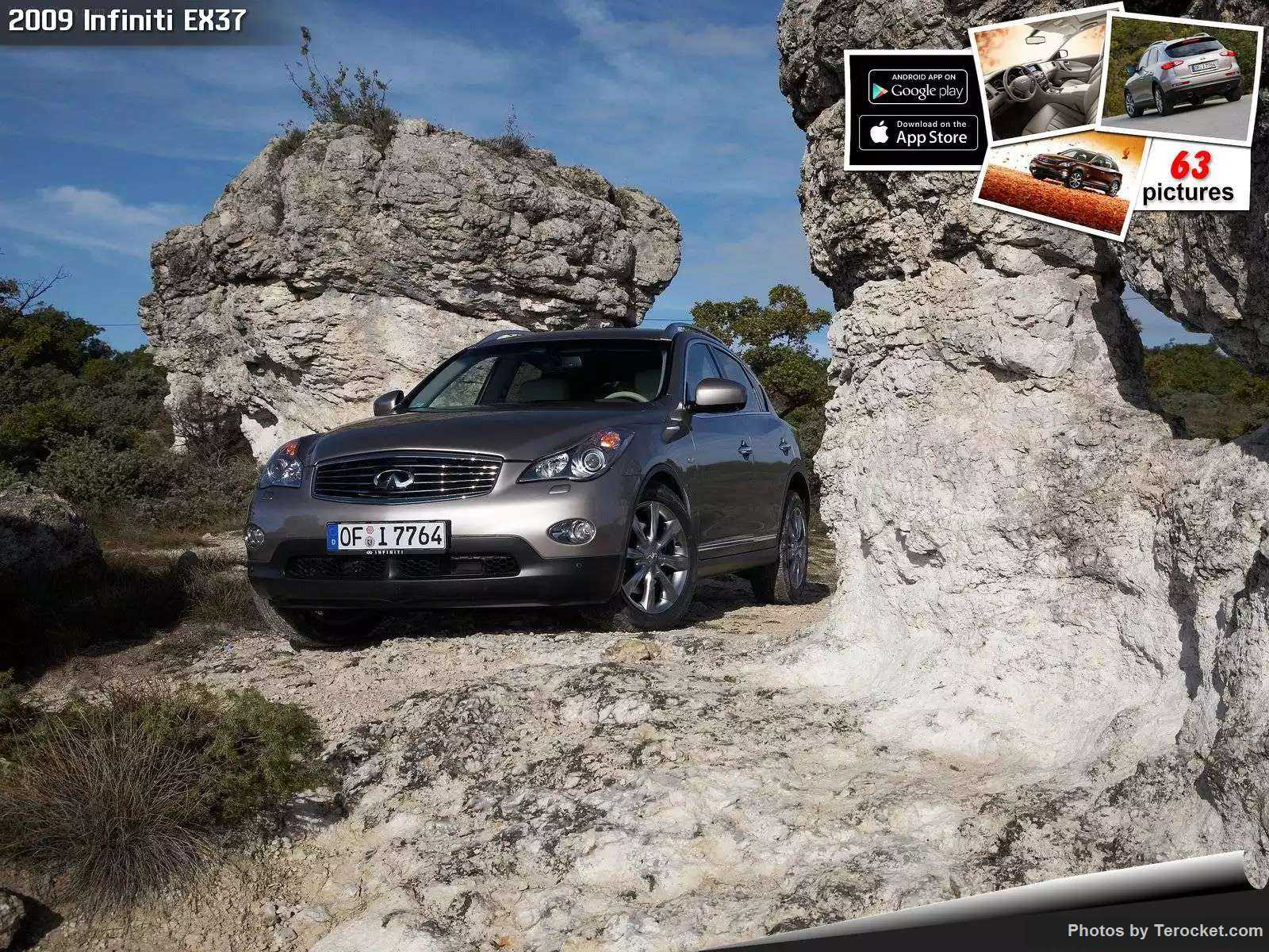 Hình ảnh xe ô tô Infiniti EX37 2009 & nội ngoại thất