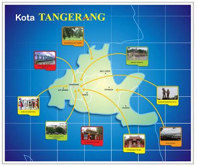 Peta Wisata Kota Tangerang