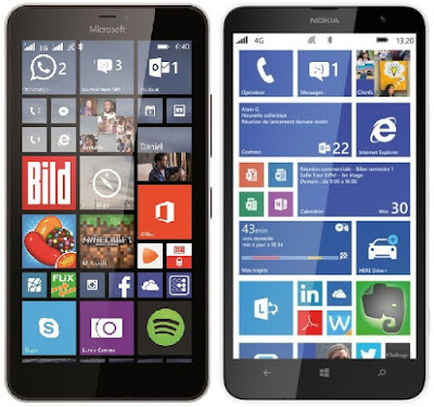 Microsoft Lumia 640 XL LTE vs Nokia Lumia 1320