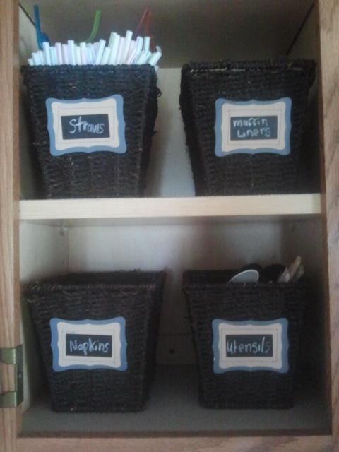 The First Commandment: Organization Inspiration: Kitchen cabinet ...