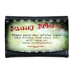 Funny Friday Enthusiasm Mini Wallet