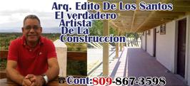 Arq. Edito De Los Santos