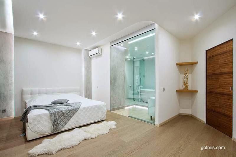 Baño Vestidor Moderno:Arquitectura de Casas: Modernos baños integrados al dormitorio