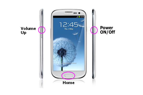 ... wipe data/factory reset, that will then reset your Galaxy S III to it