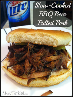Mom's Test Kitchen: Slow-Cooked BBQ Beer Pulled Pork