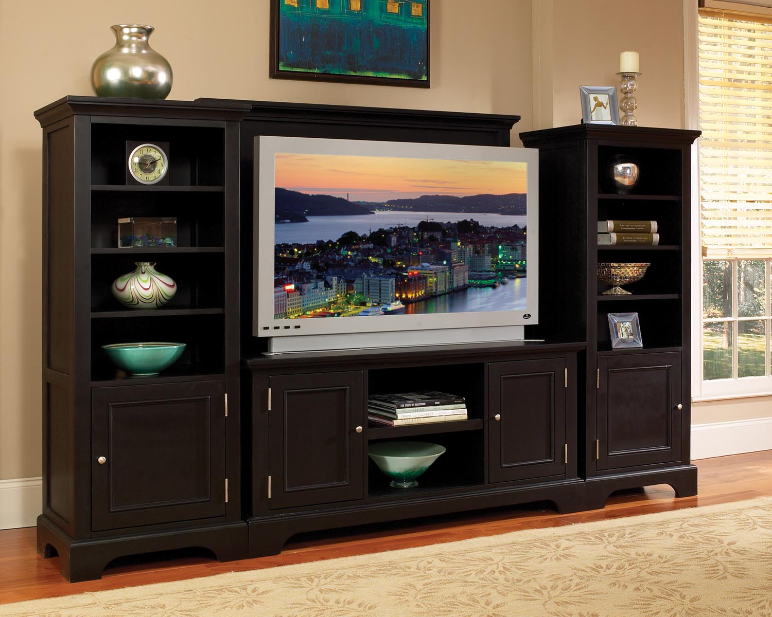 Home furniture and patio why choose contemporary Home entertainment center