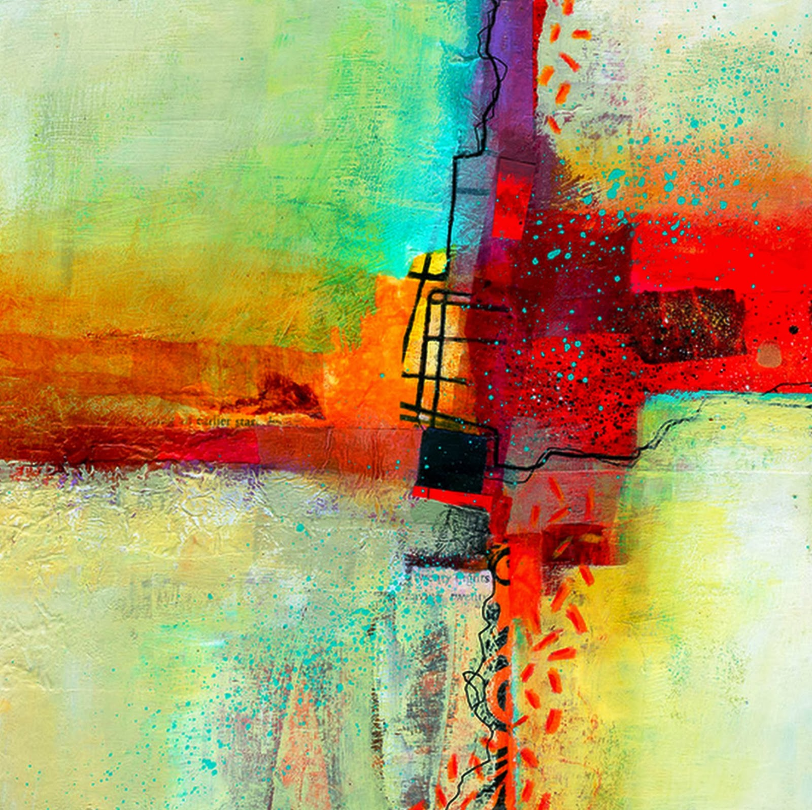 Pintura moderna y fotograf a art stica museo virtual - Pintura abstracta decorativa ...