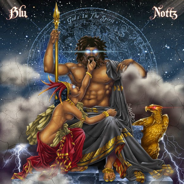 Blu & Nottz - Gods In the Spirit - EP Cover