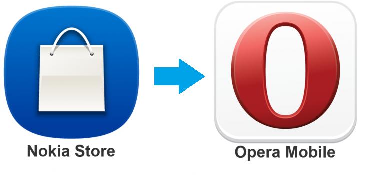 Opera Mobile Store Menggantikan Nokia Store