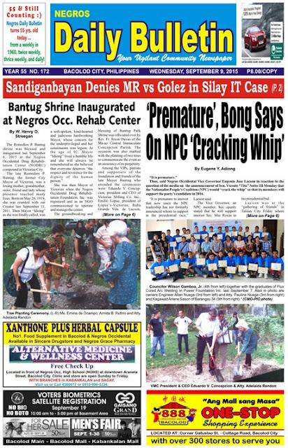 NDB Sept. 9 Issue