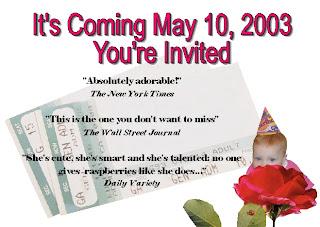contoh undangan ulang tahun bahasa inggris terbaik