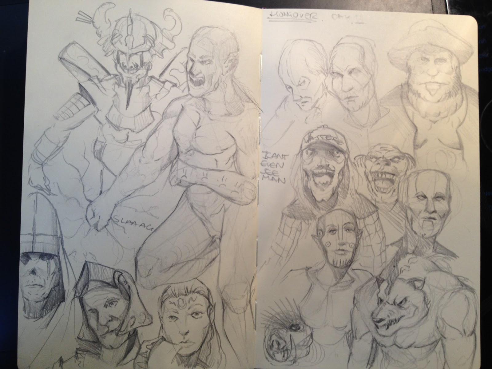 Fudgeloaf's Sketchbook