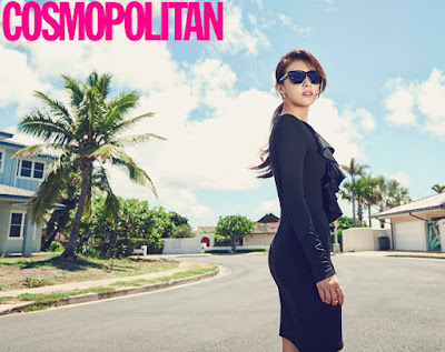 Ha Ji Won Cosmopolitan October 2015