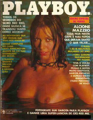 Confira as fotos da modelo e atriz Alcione Mazzeo, capa da Playboy de janeiro de 1980!
