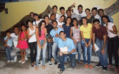 Jm do Salvador da Lyra/AL realiza Missão em comunidade