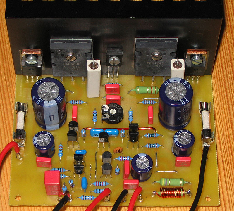 Audio Kit Circuits  Class Ab 100w Hi