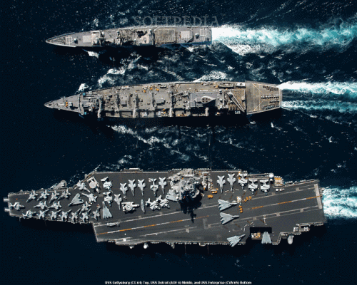 US Navy Ships Screen Saver