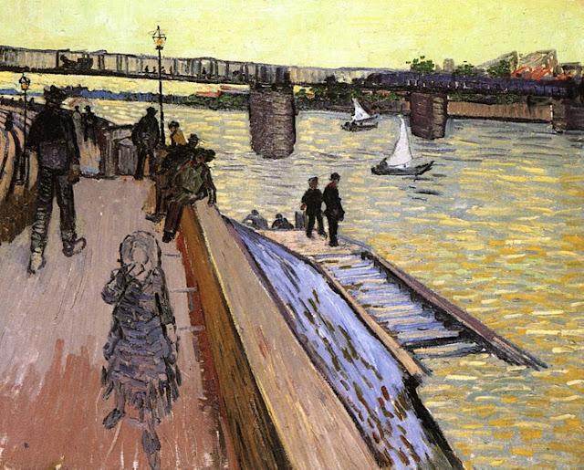 """В. Ван Гог. """"Мост в Трикетайе"""" (1888)"""