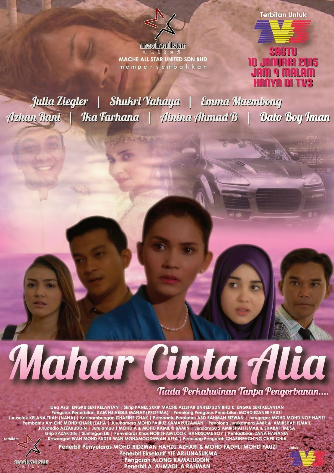 Mahar Cinta Alia [2015]Cerekarama