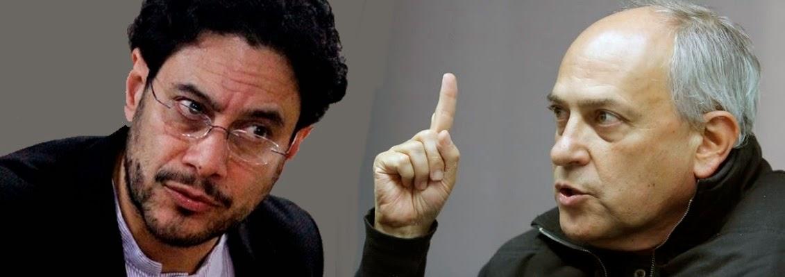 José Obdulio e Iván Cepeda