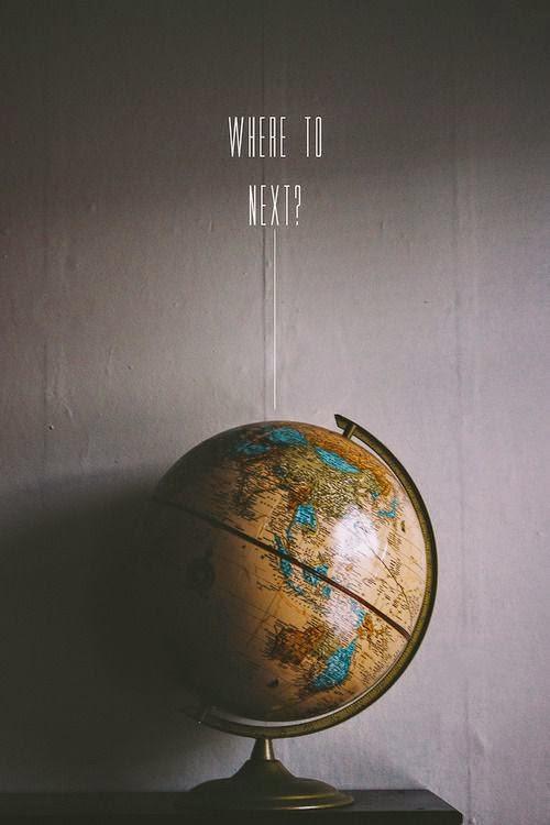 Where to Next world globe travel