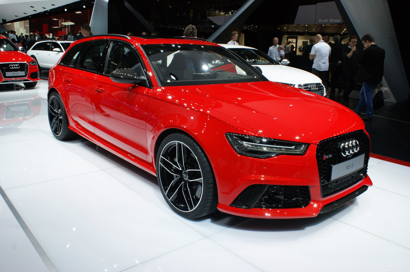 Audi S Facelifted A6 S6 Rs6 And Allroad Say Bonjour To Paris Carscoops