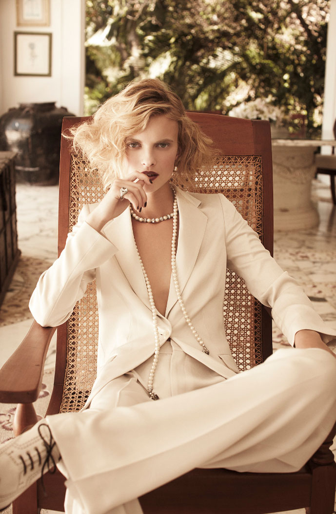 Sophie Holmes in Golden Twenties  Elle Germany June 2011 (photography: Pasquale Abbattista, styling: Kathrin Siedel) / Umberto Angeloni quotes / via fashioned by love british fashion blog