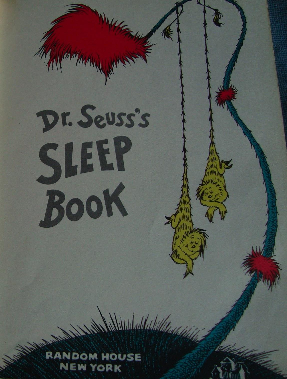 Mamá de Ultramar: Más dibujos y cuentos. Dormir según el Dr. Seuss