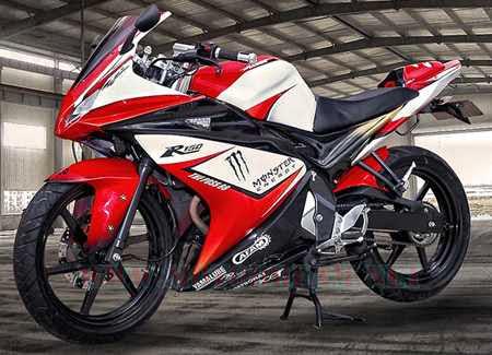 Modifikasi Motor Yamaha Vixion Full Fairing