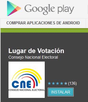 averiguar donde votar elecciones ecuador 2013