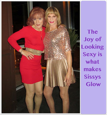 Make a sissy glows